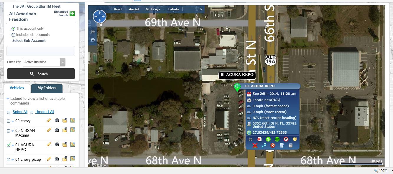 TMF GPS TRACKNG FLEET EQUIPMENT Powersport